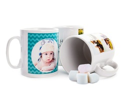 Personalised White Photo Mugs