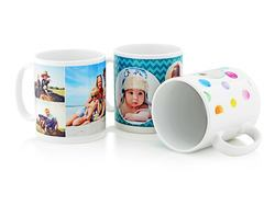 White Photo Mugs