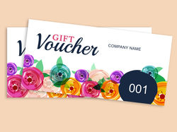 Tickets & Vouchers - Numbered