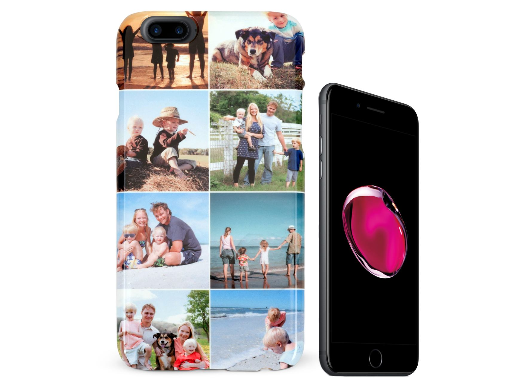 hot sale online 3d8cd 13968 Personalised iPhone 7 Plus (7+) Photo Case