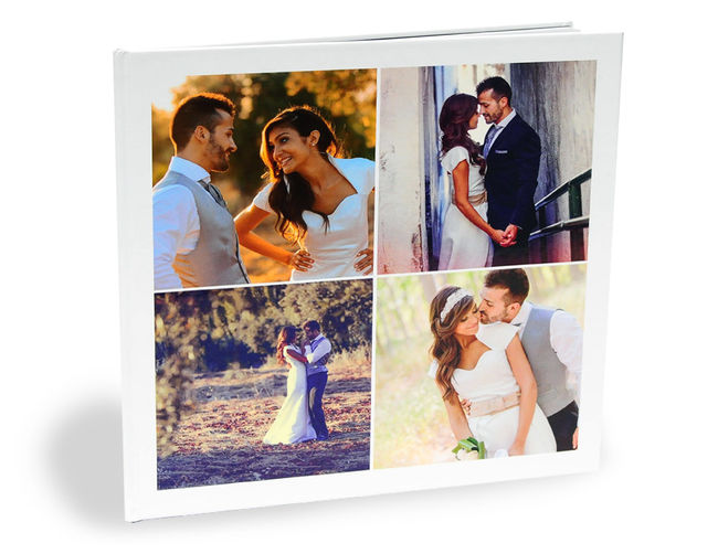 "Personalised 12"" Square Photo book"
