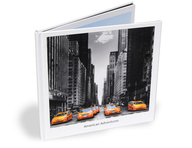 "Personalised 8"" Square Photo book"