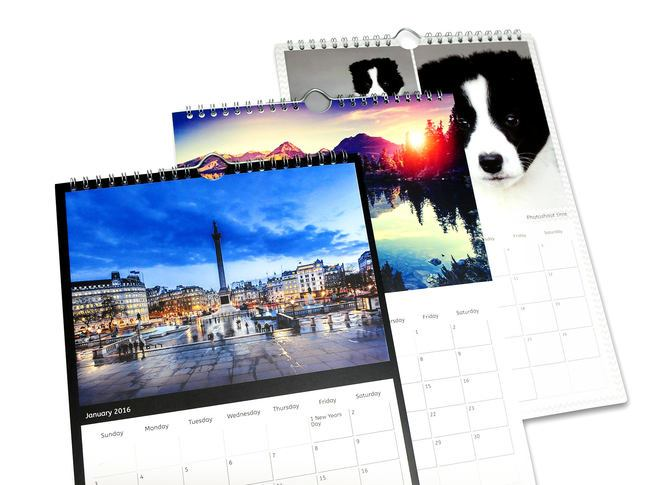 Personalised A Wall Calendars  Pixa Prints Ireland