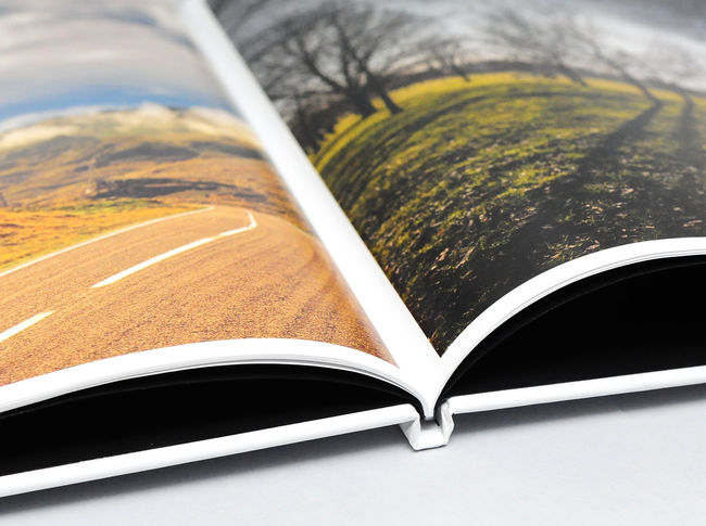 Personalised A4 Landscape Photo Book & Photo Album