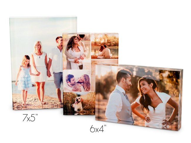 Customised Acrylic Photo Block