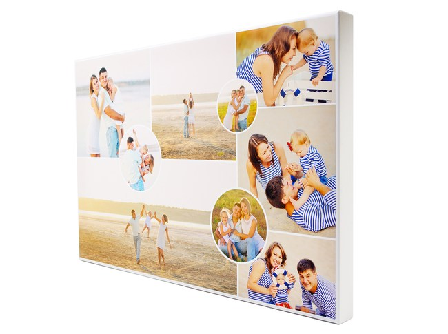 Collage Canvas Printing