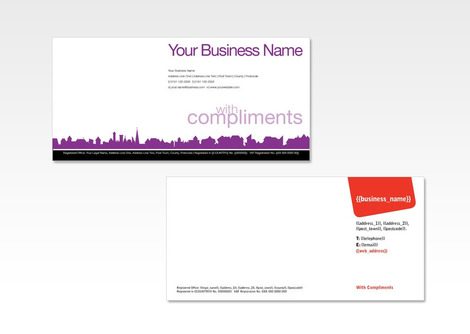 Compliment Slip Printing and Cheap Business Stationary