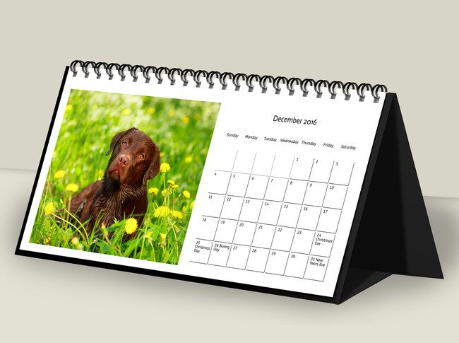 Personalised Desk Calendars