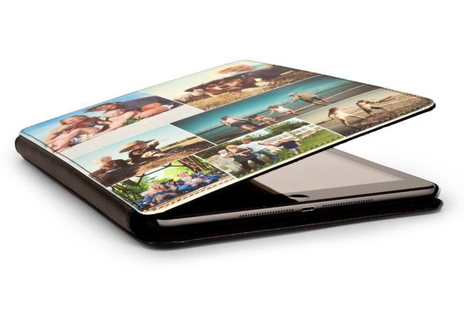Personalised Leather iPad Air Cases