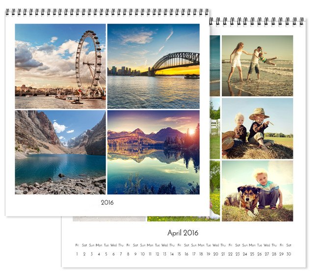 Personalised Square Wall Calendars