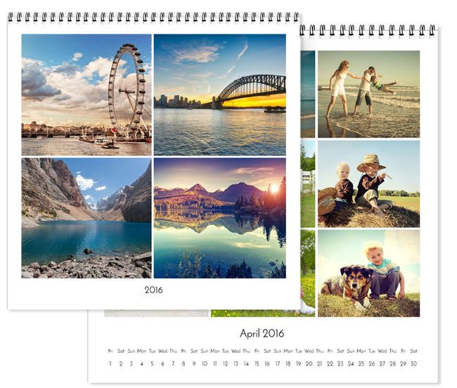 Personalised Square Wall Calendar